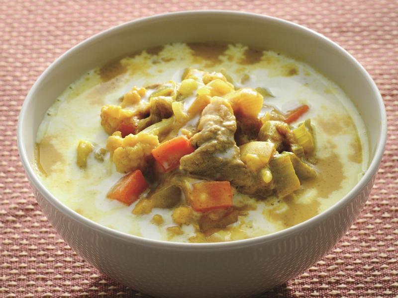 甜香咖喱湯