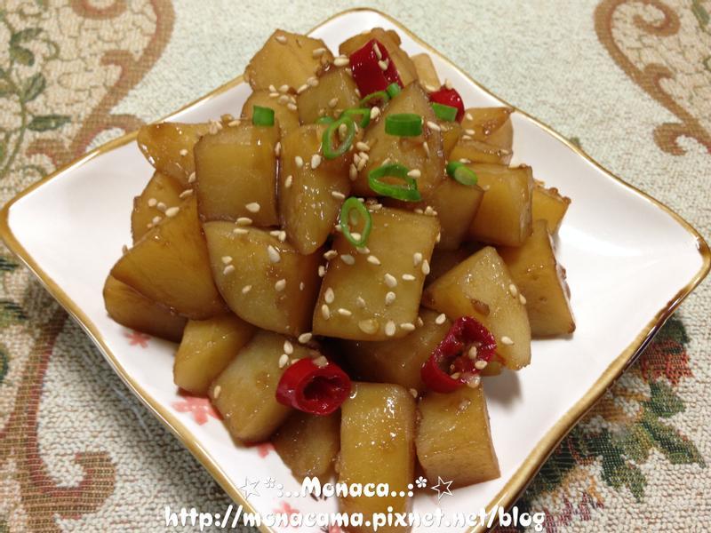 韓式醬煮馬鈴薯감자조림