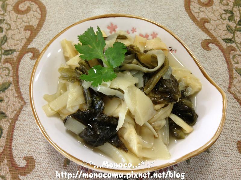 古早味福菜滷筍絲