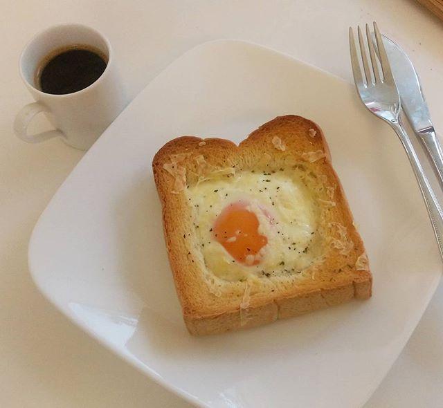 慵懶早餐- 烤蛋土司先生