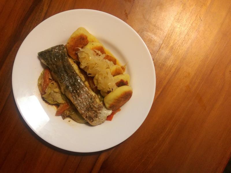慵懶食譜-一個鍋燒魚