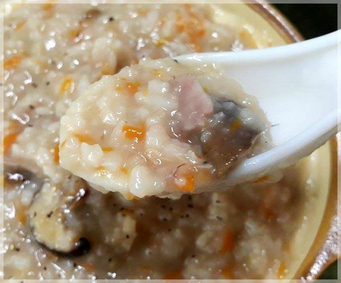 香菇芋頭粥〞節省時間的煮粥小技巧