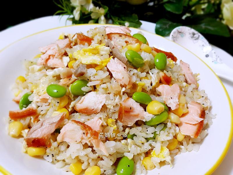 奶香鮭魚炒飯