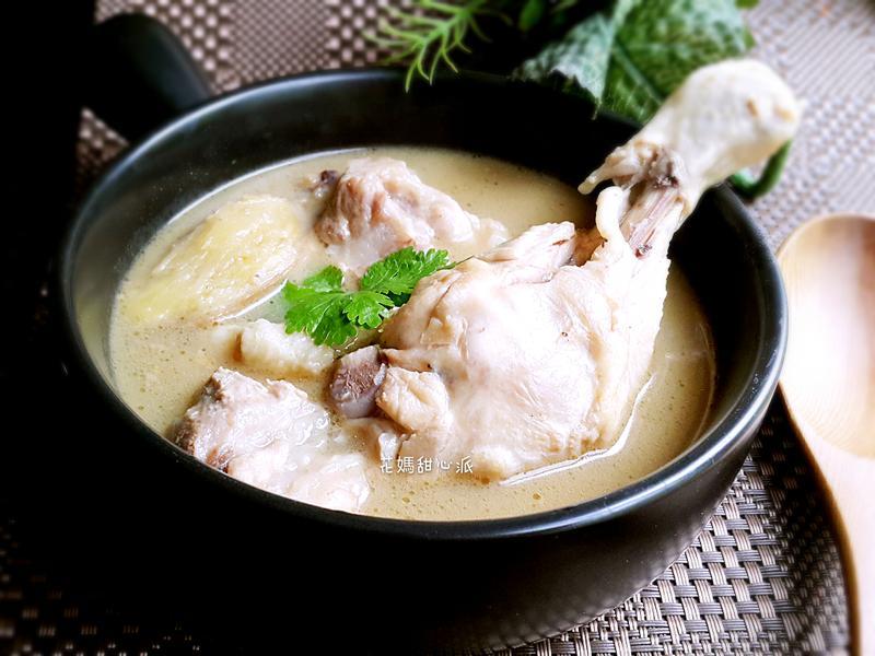 麻油雞豬湯(電鍋版)