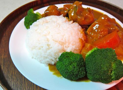香濃可口的日式咖哩雞