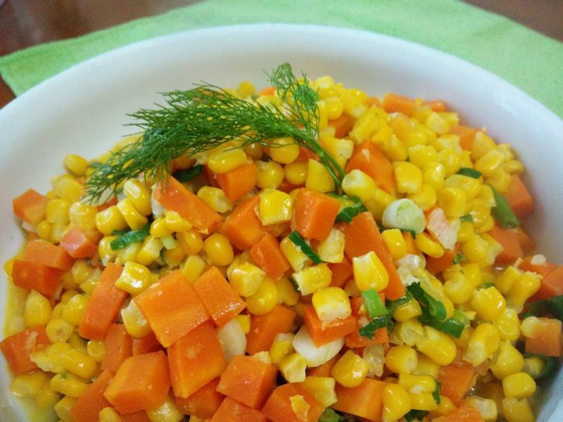 十分鐘上菜─三色鮮蔬