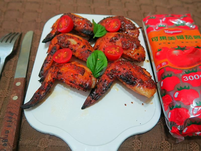 兩種食材完成紐奧良烤雞【蕃茄醬懶人料理】