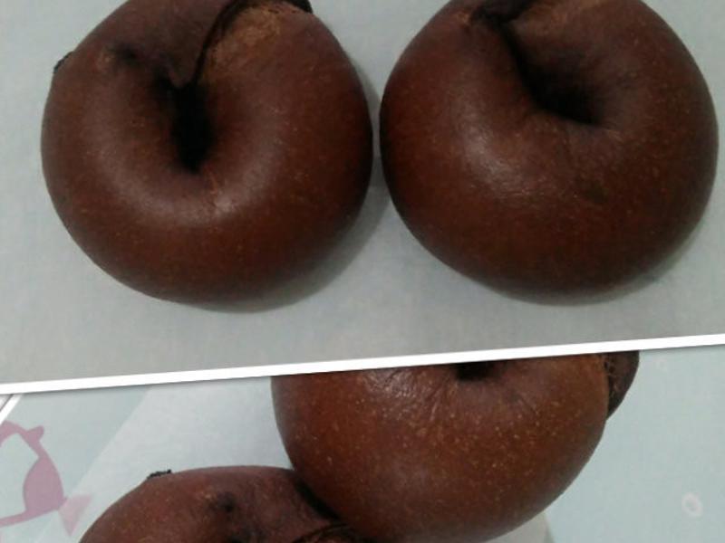巧克力貝果(無油)
