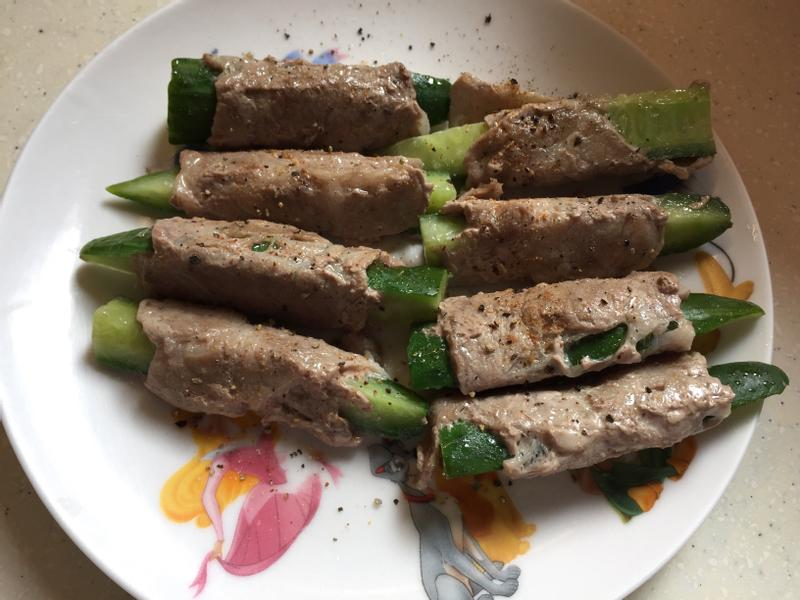 小黃瓜豬肉捲