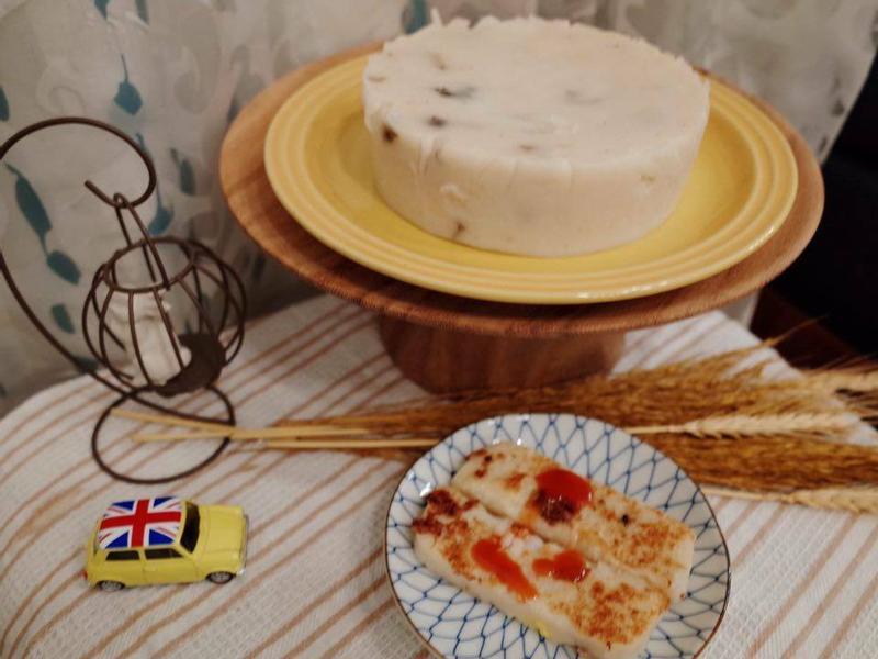 純米蘿蔔糕(sharp水波爐)