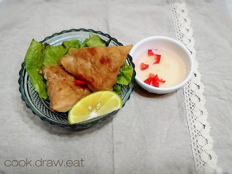 年菜 黃金三角蝦餅