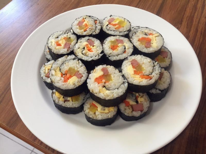 韓式紫菜飯卷