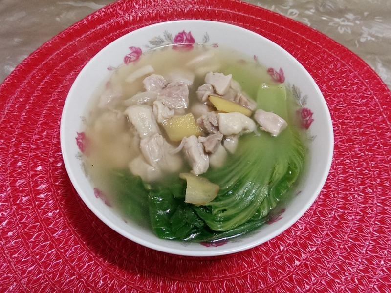 長年菜雞湯[芥菜]