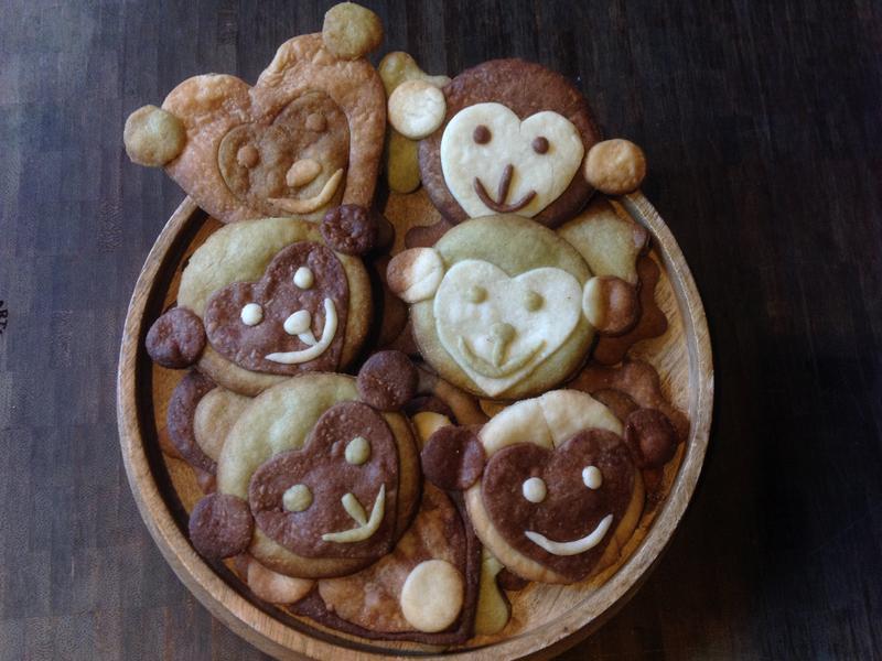 Monkey Cookie-可愛猴子餅乾