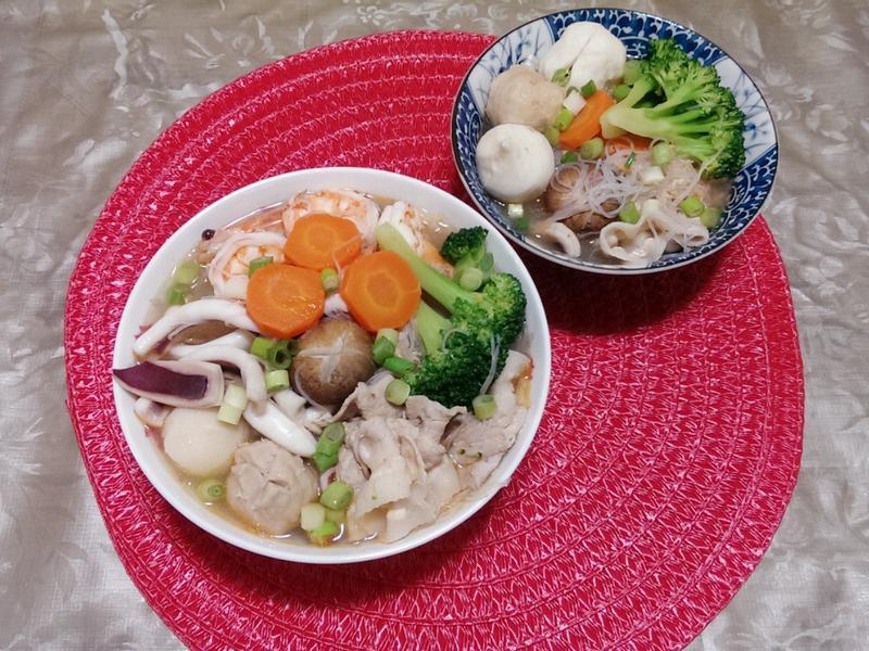 海鮮什錦米粉湯