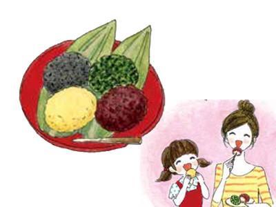《日本生活家的歲時雜記》電鍋做四色牡丹餅