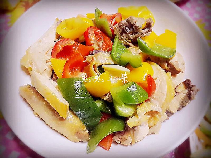 三彩雞肉(年菜)