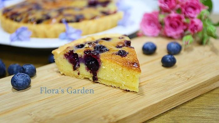 藍莓塔~一次完烤、餅皮像千層酥般的酥脆