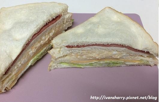 馬鈴薯蛋沙拉三明治