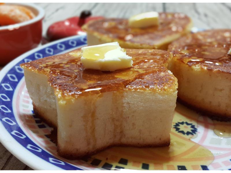 高木厚鬆餅「烘焙展西式食譜」
