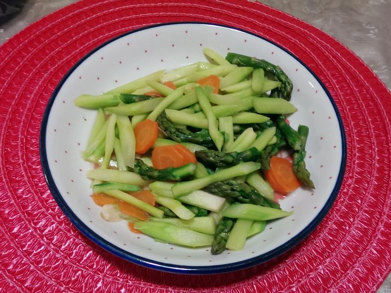 清炒綠蘆筍