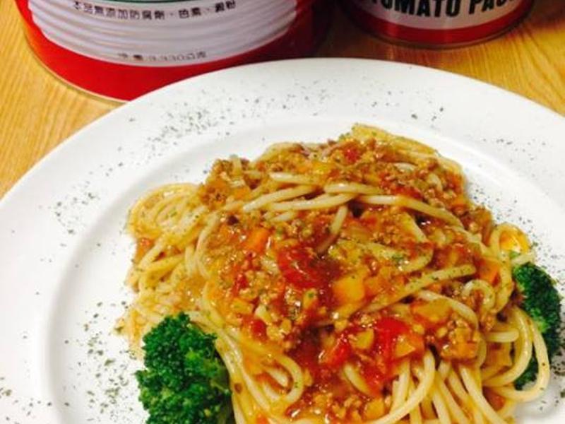 茄汁肉醬義大利麵之蕃茄醬懶人料理