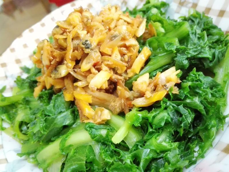 海鮮醬拌菊苣(明目萵苣)