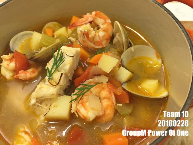 群邑地中海式飲食防失智 - 希臘海鮮湯