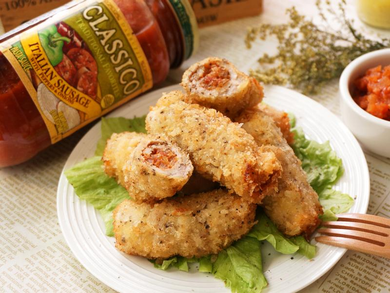 義式風味炸肉捲_CLASSICO義麵醬