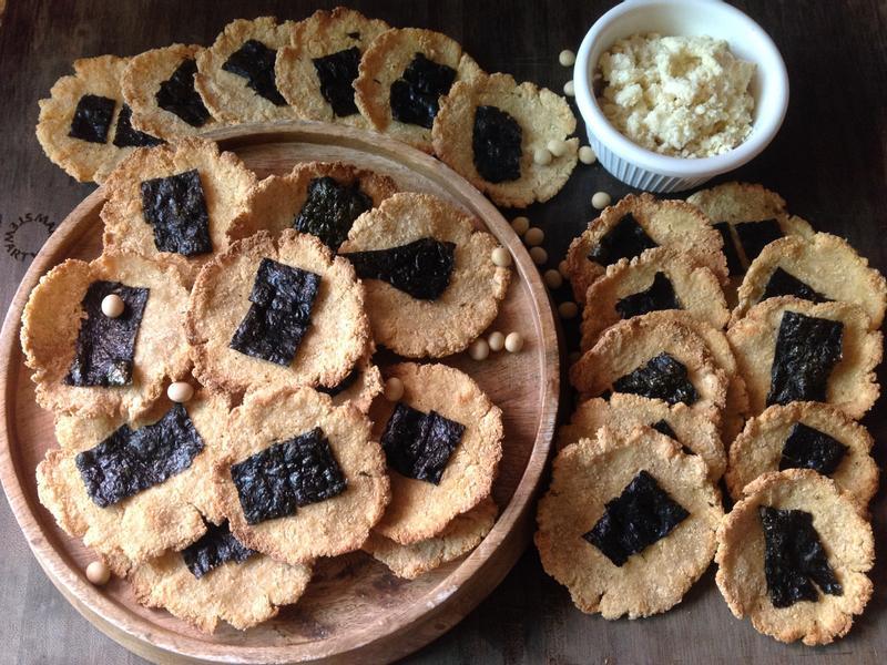 豆渣海苔低熱量健康餅