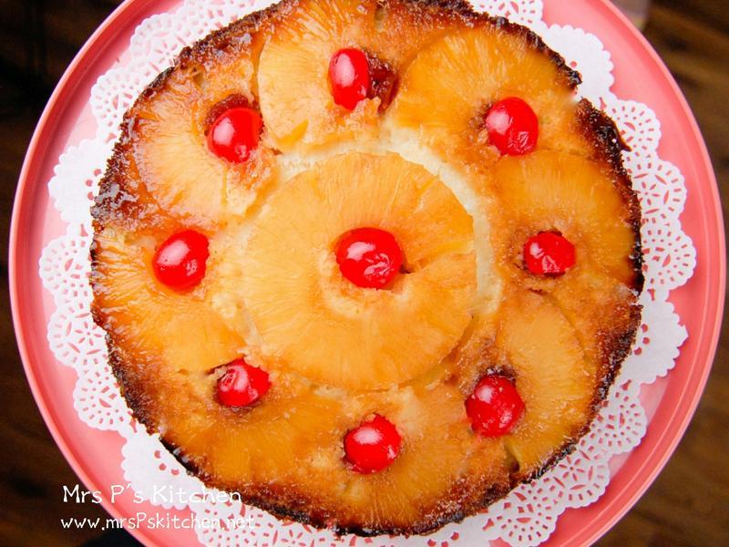 反轉鳳梨蛋糕