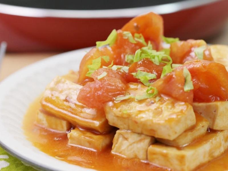 蕃茄紅燒豆腐