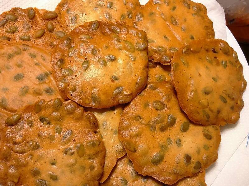 南瓜子瓦片酥【烘焙展西式食譜】