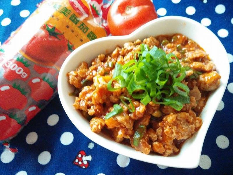 茄香肉燥-蕃茄醬懶人料理