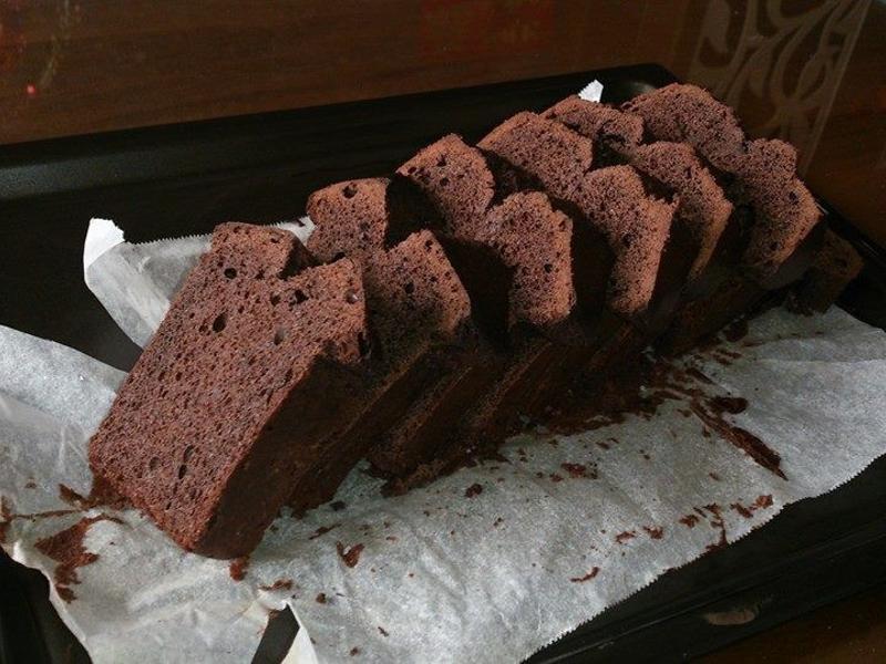 巧克力磅蛋糕【烘焙展西式食譜】