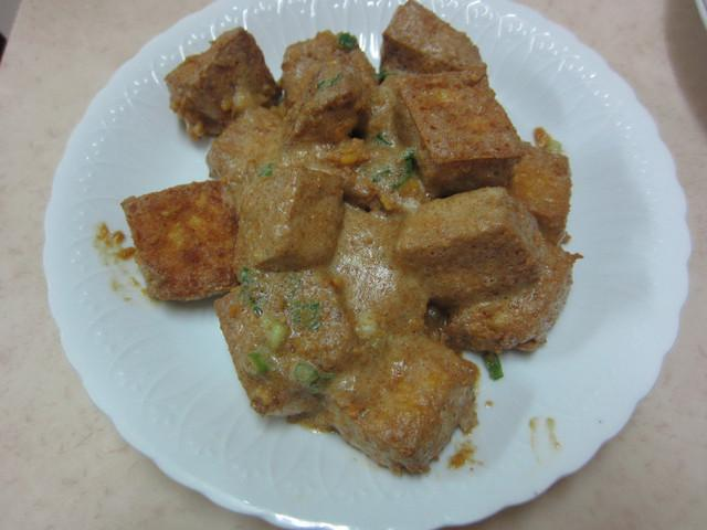 ♥我的手作料理♥ 金沙豆腐