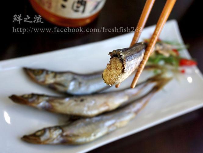 超簡單~火烤爆卵柳葉魚【鮮之流】