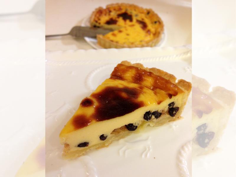 德國酒漬藍莓布丁塔~「烘焙展西式食譜」