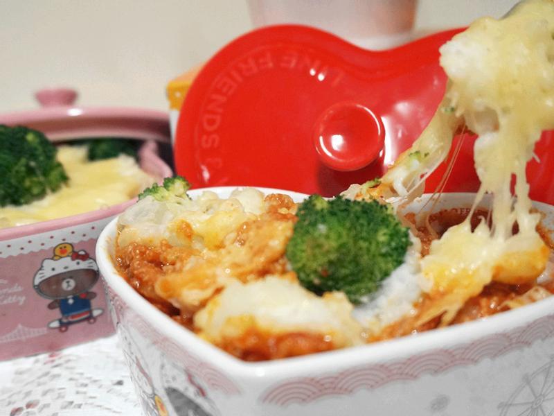 英式紅酒帕瑪森焗肉醬 全聯料理王大賽