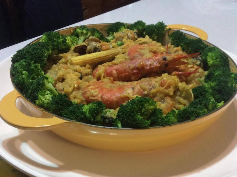 海鮮燉藜麥飯(鑄鐵鍋)_蕃茄醬懶人料理