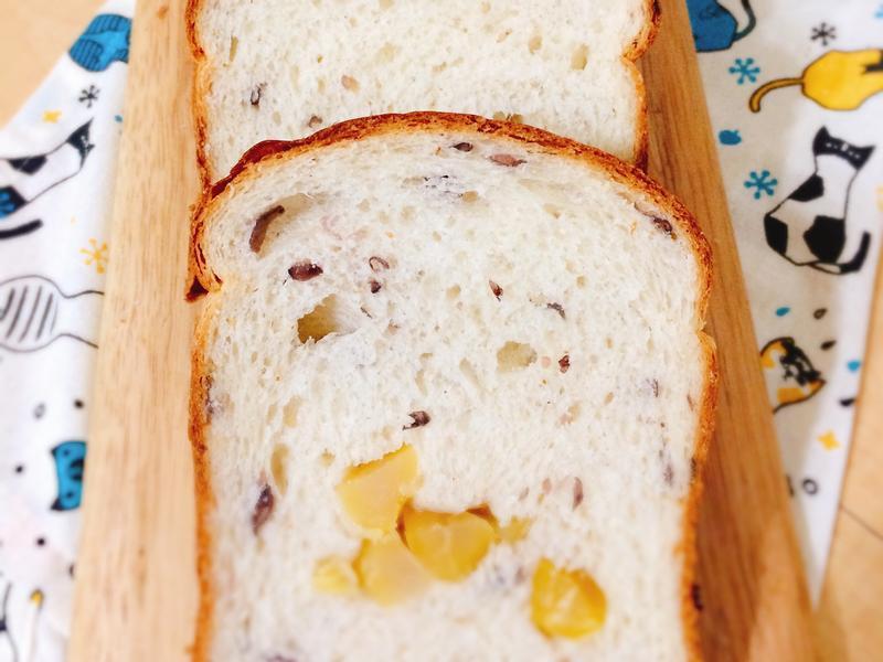 湯種紅豆栗子麵包