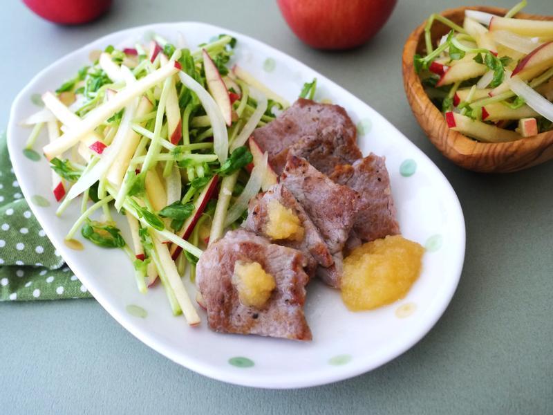 蘋果豬里肌沙拉【全聯24節氣料理】