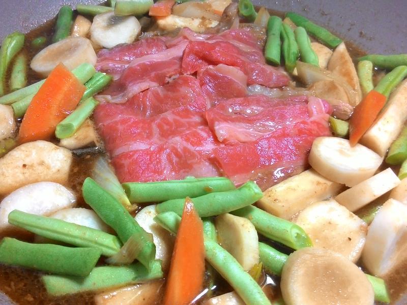 鮮蔬牛肉煑 【全聯料理王大賽】