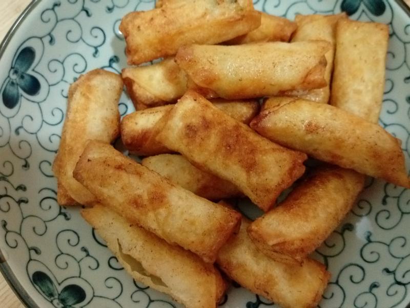 月亮蝦餅(餛飩皮篇)