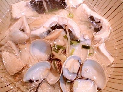 🐟蛤蜊魚肚麵線🍲