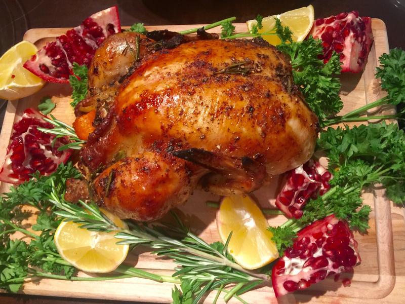 烤雞三吃! 一隻美式烤雞 滿足地吃三餐