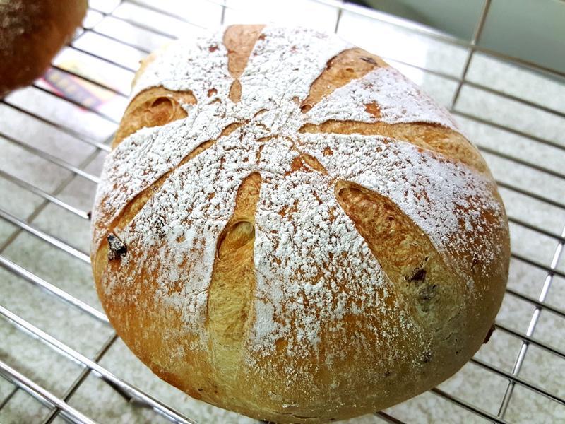 無油葡萄法國麵包