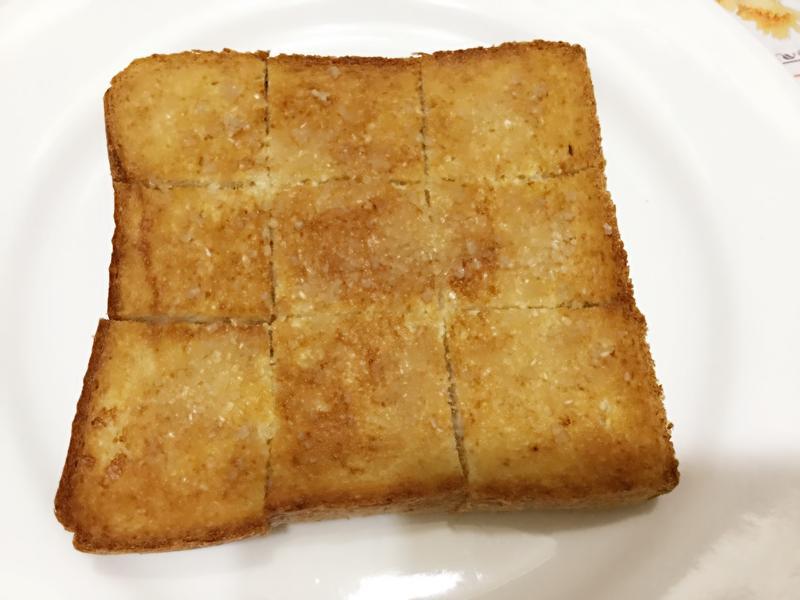 早餐吐司輕鬆吃~卡滋甜吐司