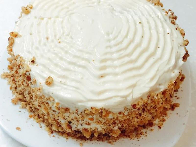 胡蘿蔔蛋糕+Cream Cheese糖霜