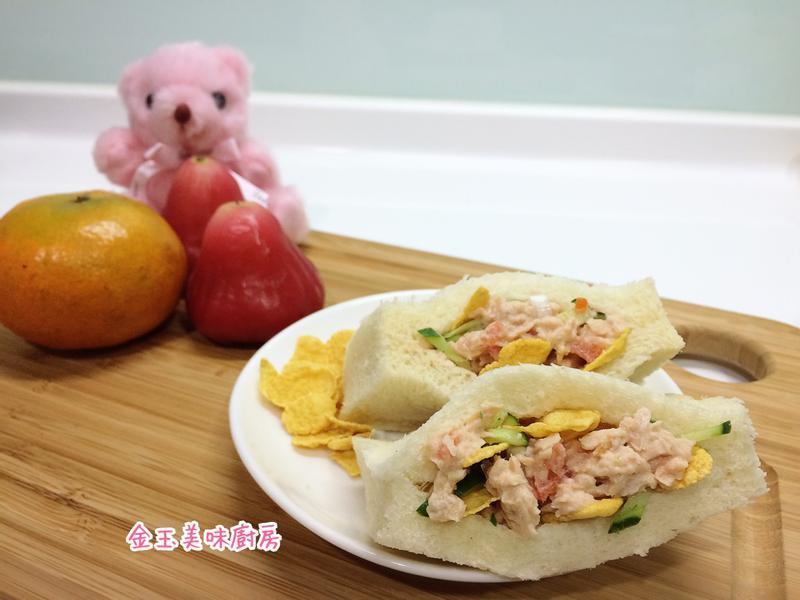 鮪魚脆香口袋『雀巢玉米脆片』